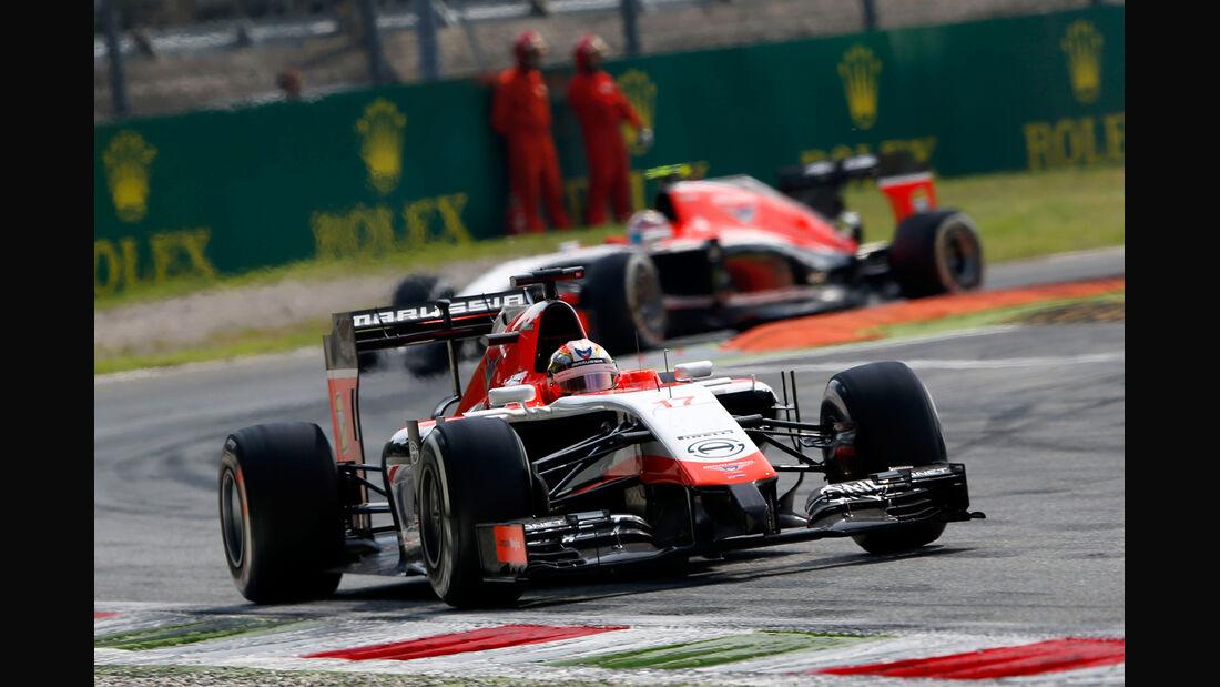 Marussia - Formcheck - GP Italien 2014