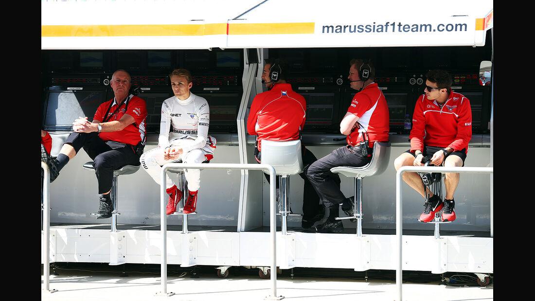 Marussia - Formel 1 - Bahrain - Test - 21. Februar 2014