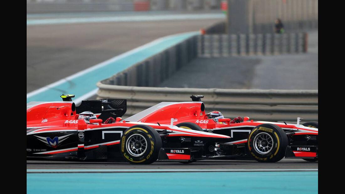 Marussia - Formel 1 - GP Abu Dhabi - 03. November 2013