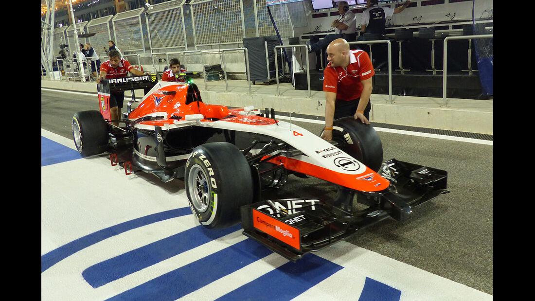 Marussia - Formel 1 - GP Bahrain - Sakhir - 3. April 2014