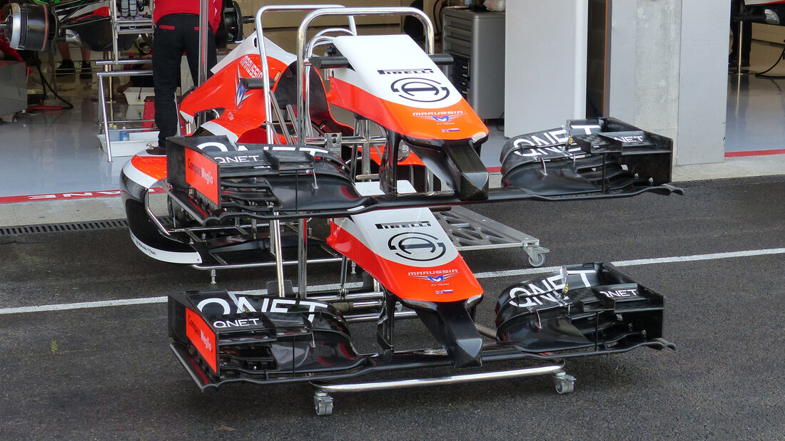 Marussia - Formel 1 - GP Belgien - Spa-Francorchamps - 21. August 2014
