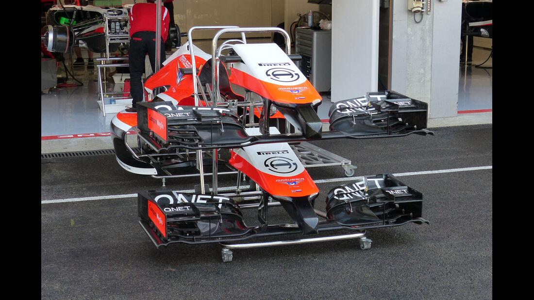 Marussia - Formel 1 - GP Belgien - Spa-Francorchamps - 21. August 2014
