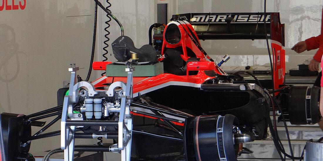 Marussia - Formel 1 - GP Belgien - Spa-Francorchamps - 22. August 2013