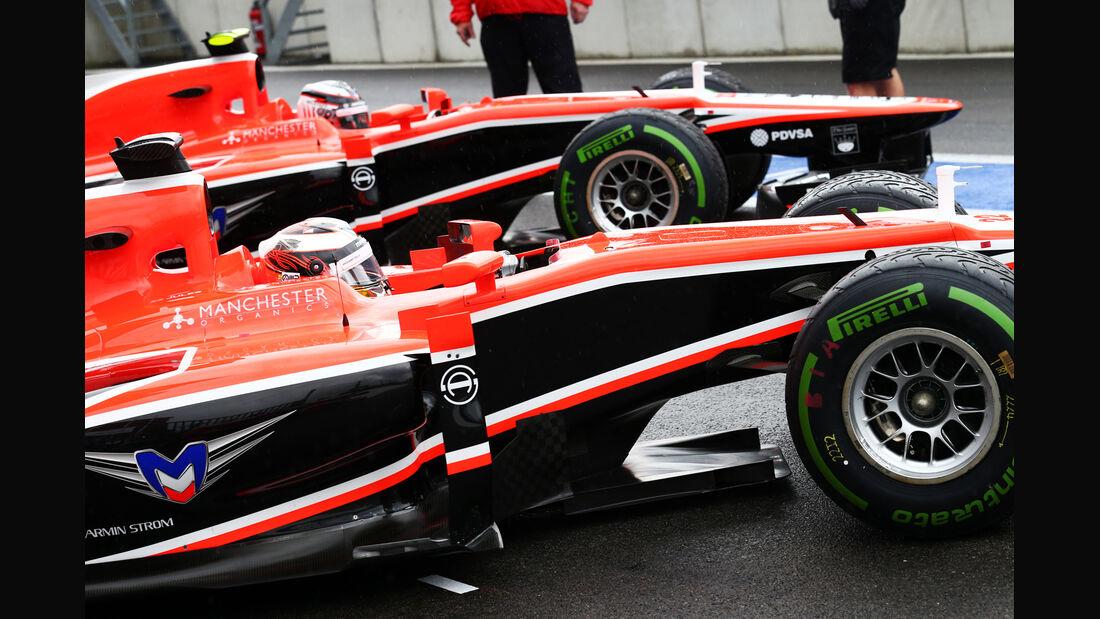 Marussia - Formel 1 - GP Belgien - Spa-Francorchamps - 24. August