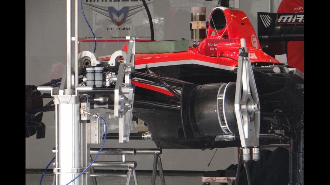 Marussia - Formel 1 - GP China - 11. April 2013