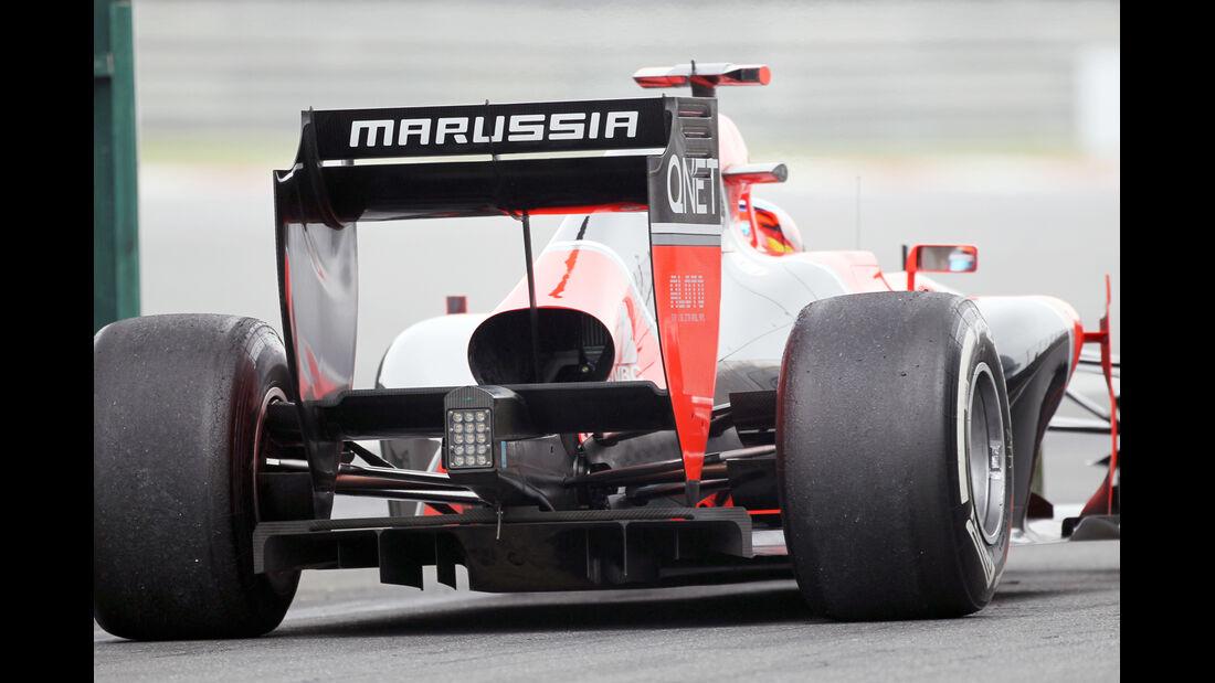 Marussia - Formel 1 - GP China - 13. April 2012