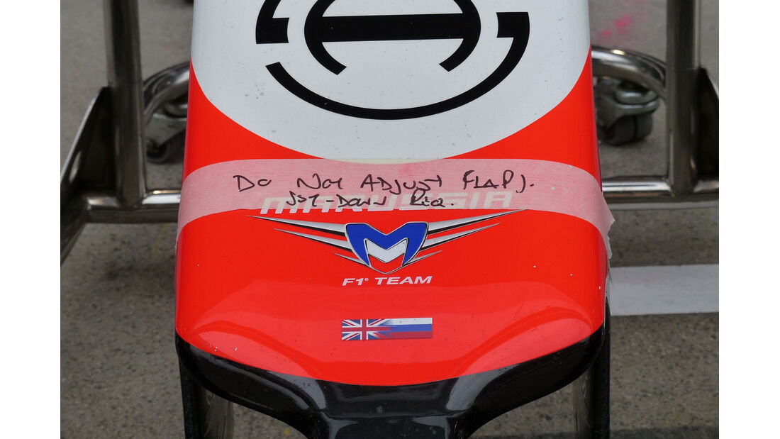 Marussia - Formel 1 - GP China - Shanghai - 19. April 2014