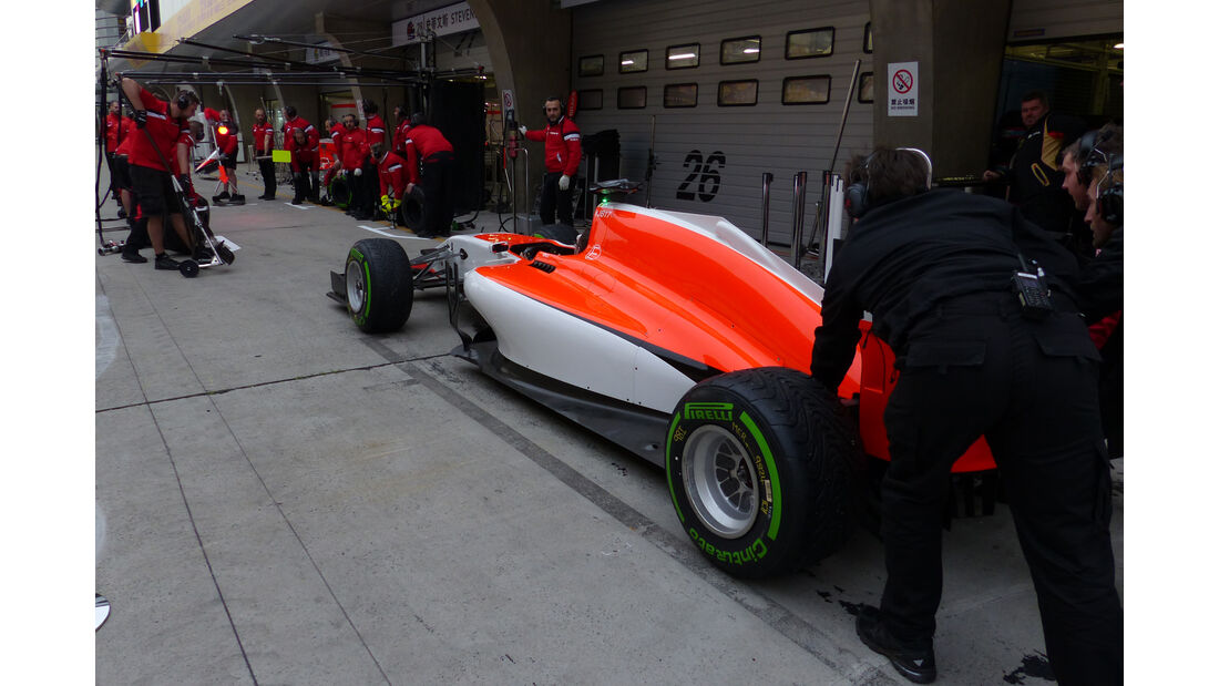 Marussia - Formel 1 - GP China - Shanghai - 9. April 2015