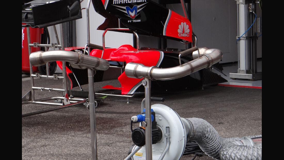Marussia - Formel 1 - GP Deutschland - 19. Juli 2012