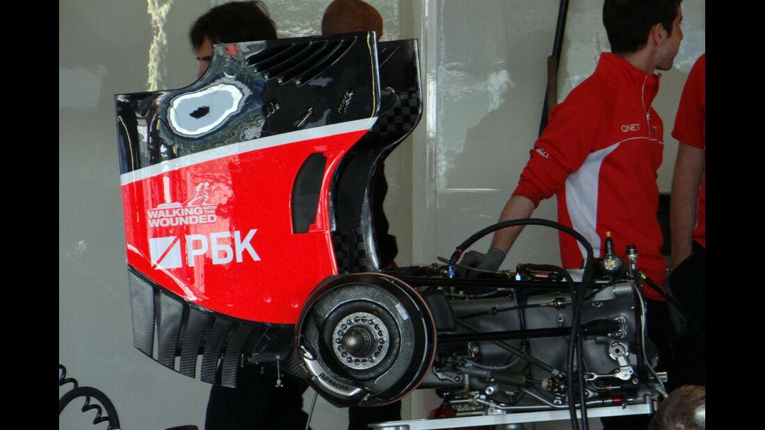 Marussia - Formel 1 - GP England - 27. Juni 2013