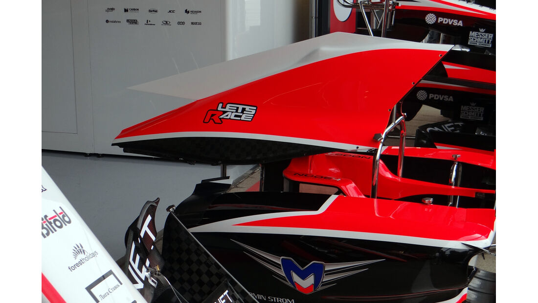 Marussia - Formel 1 - GP England - 28. Juni 2013