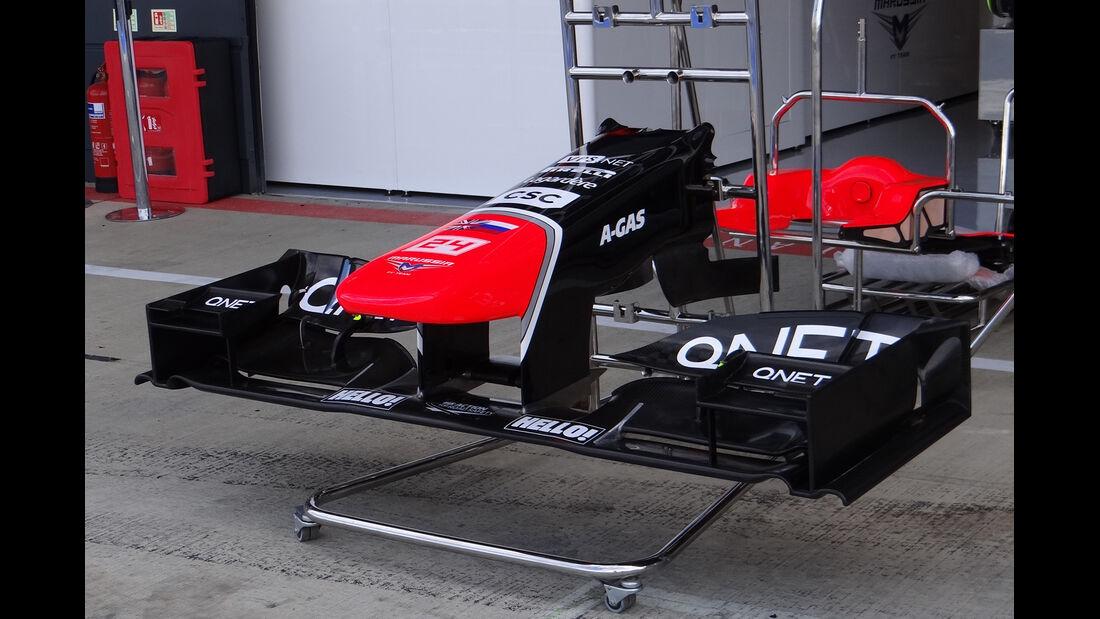 Marussia - Formel 1 - GP England - Silverstone - 5. Juli 2012
