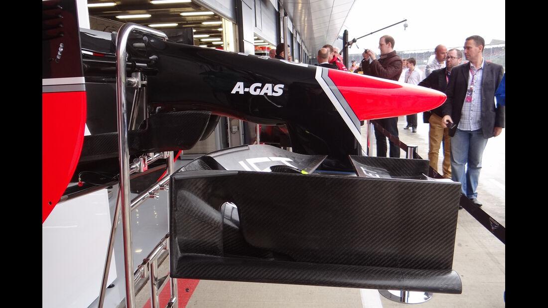 Marussia - Formel 1 - GP England - Silverstone - 6. Juli 2012