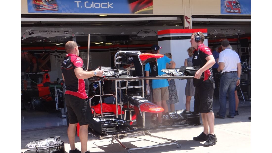 Marussia  - Formel 1 - GP Europa - 23. Juni 2012