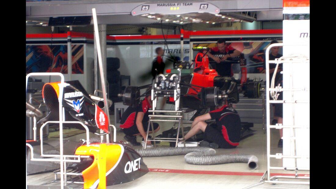 Marussia  - Formel 1 - GP Indien - 25. Oktober 2012