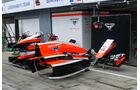 Marussia - Formel 1 - GP Italien - 3. September 2014