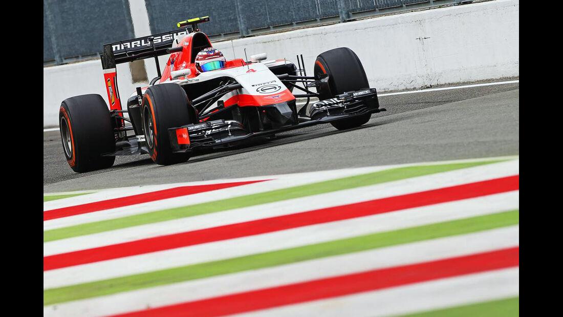 Marussia - Formel 1 - GP Italien - 5. September 2014