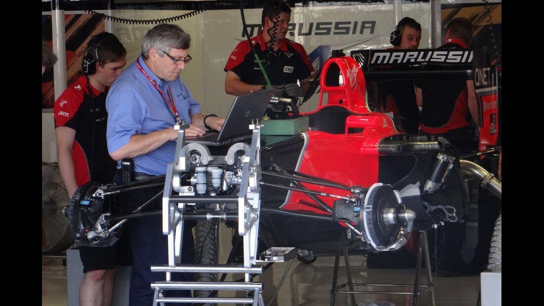 Marussia - Formel 1 - GP Italien - 6. September 2012
