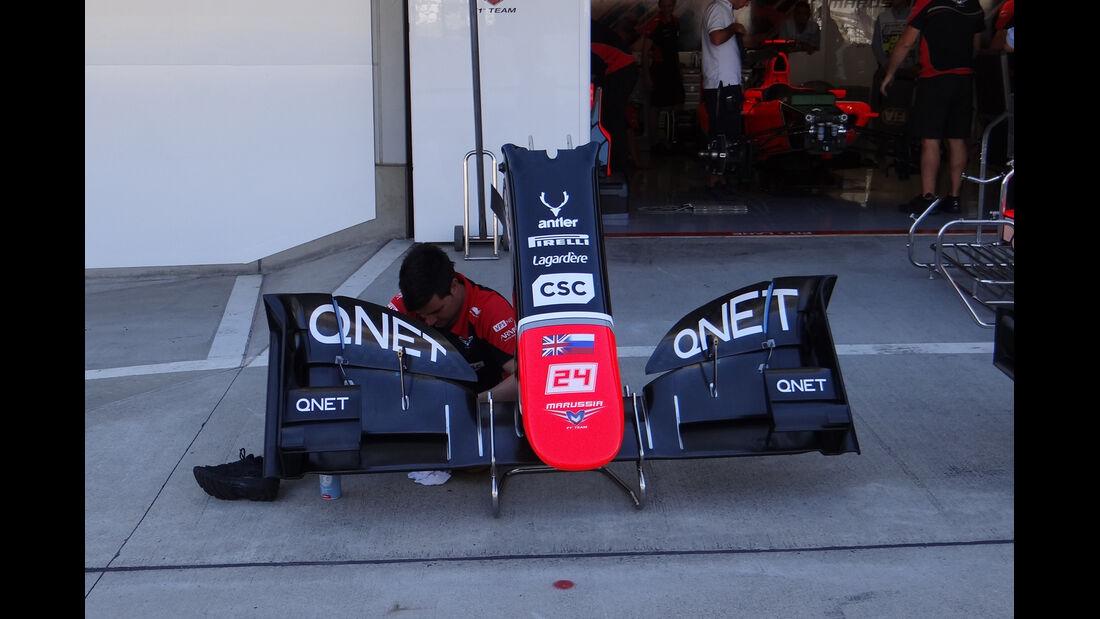 Marussia - Formel 1 - GP Japan - Suzuka - 4. Oktober 2012