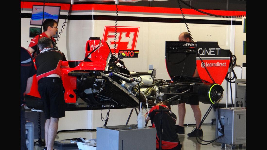 Marussia - Formel 1 - GP Kanada - 7. Juni 2012