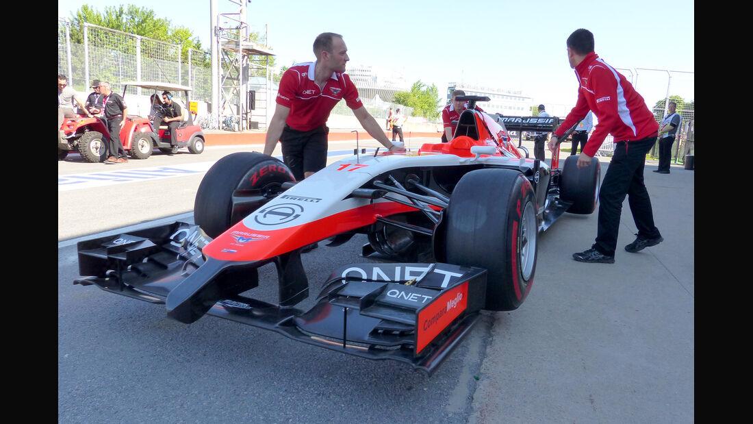 Marussia - Formel 1 - GP Kanada - Montreal - 7. Juni 2014