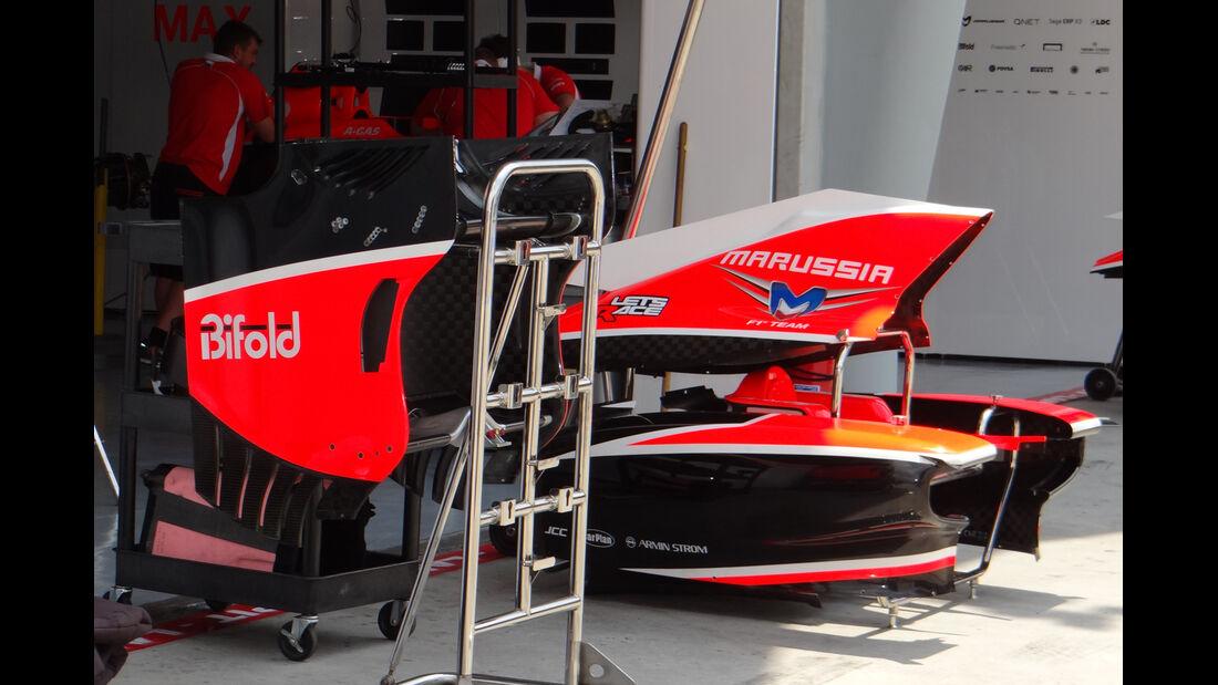 Marussia - Formel 1 - GP Malaysia - 20. März 201