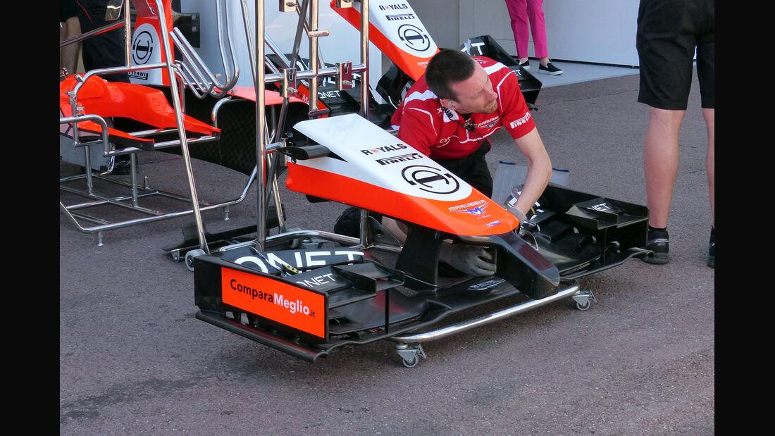 Marussia - Formel 1 - GP Monaco - 23. Mai 2014