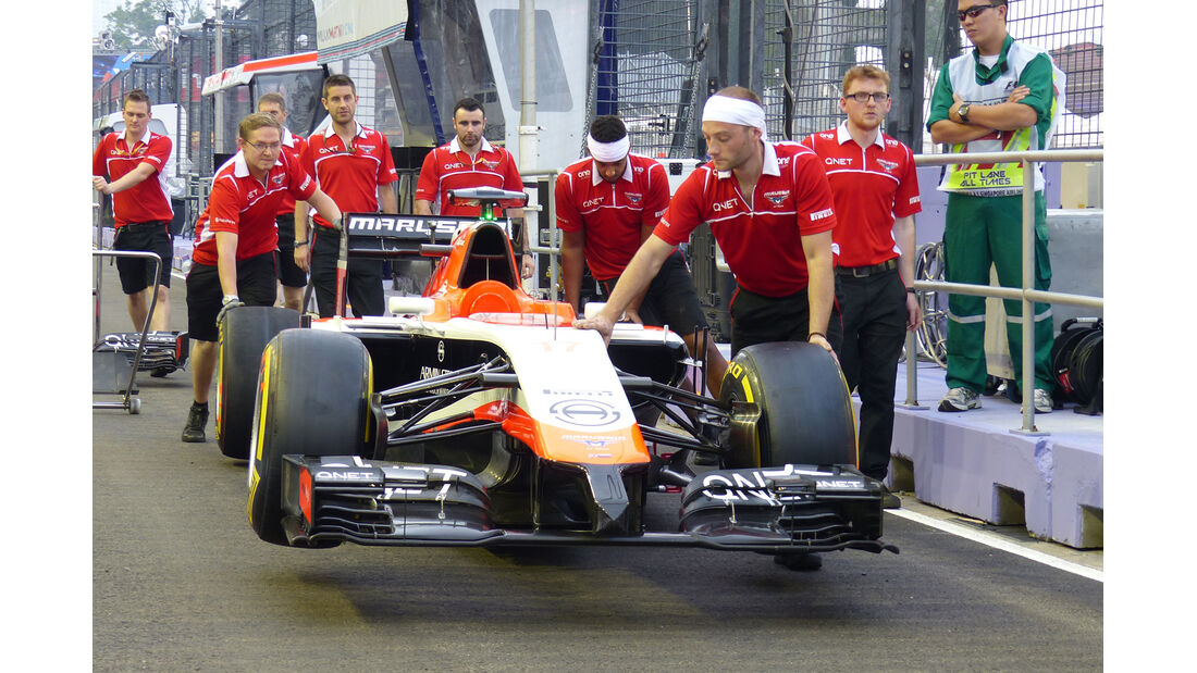 Marussia - Formel 1 - GP Singapur - 18. September 2014