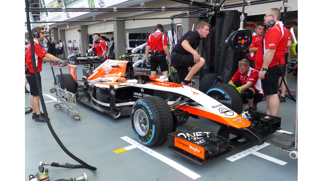 Marussia - Formel 1 - GP Singapur - 19. September 2014