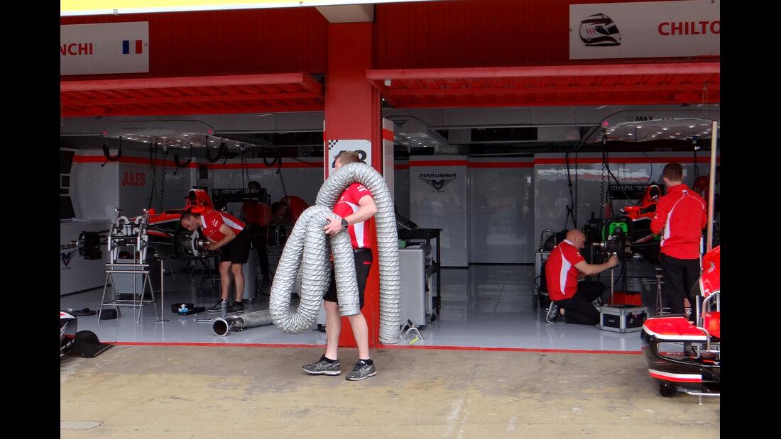 Marussia - Formel 1 - GP Spanien - 9. Mai 2013