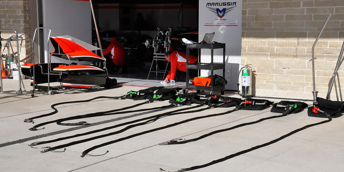 Marussia - Formel 1 - GP USA - Austin - 13. November 2013