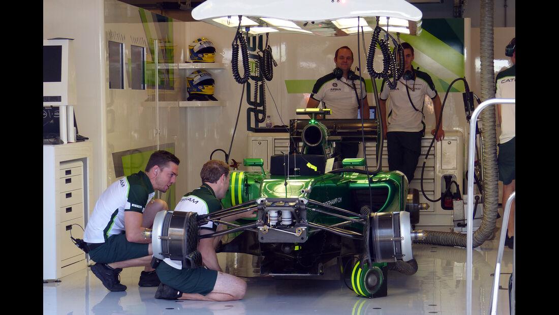 Marussia - Formel 1 - GP Ungarn - 25. Juli 2014