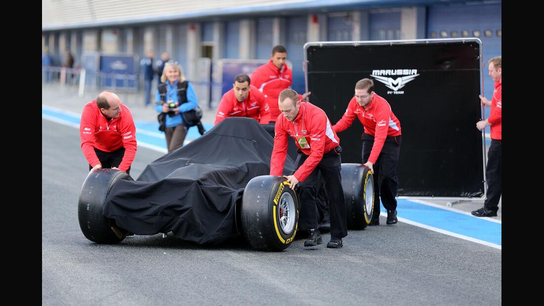 Marussia - Formel 1 - Jerez-Test 2014