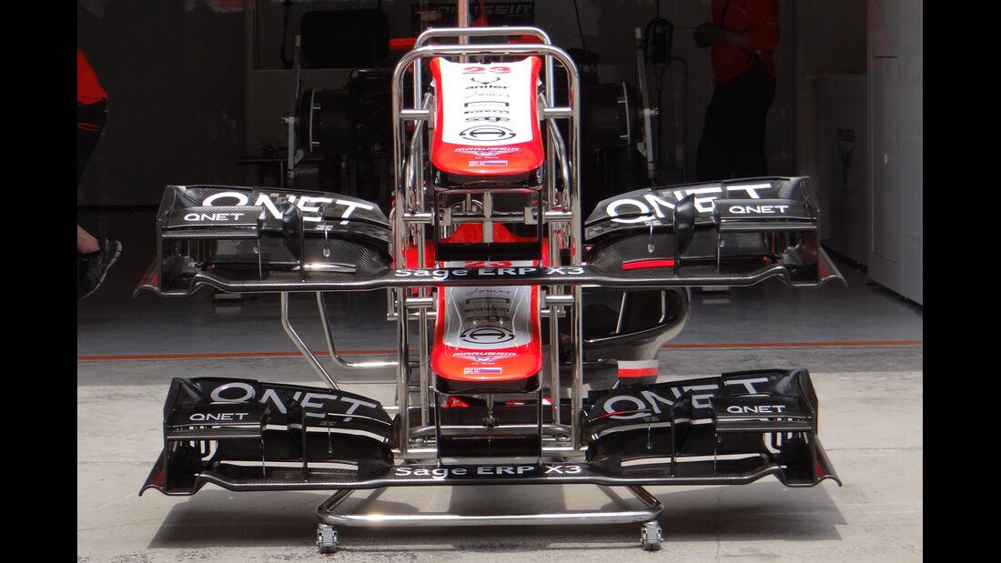 Marussia Frontflügel - Formel 1 - GP China - 11. April 2013