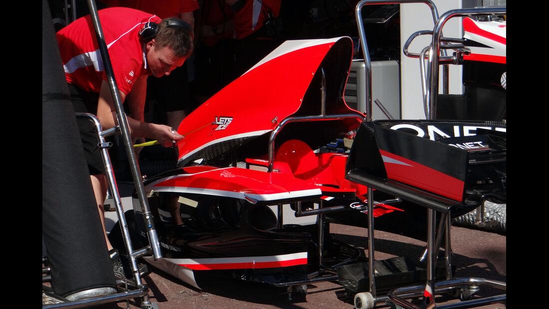 Marussia Frontflügel - Formel 1 - GP Monaco - 22. Mai 2013