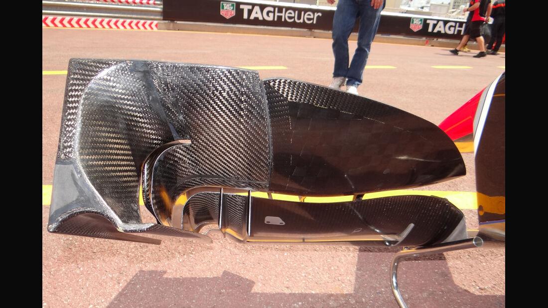 Marussia-Frontflügel - Formel 1 - GP Monaco - 24. Mai 2012