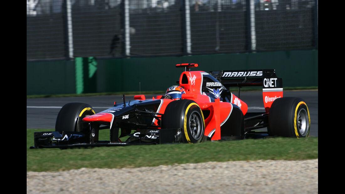 Marussia GP Australien 2012