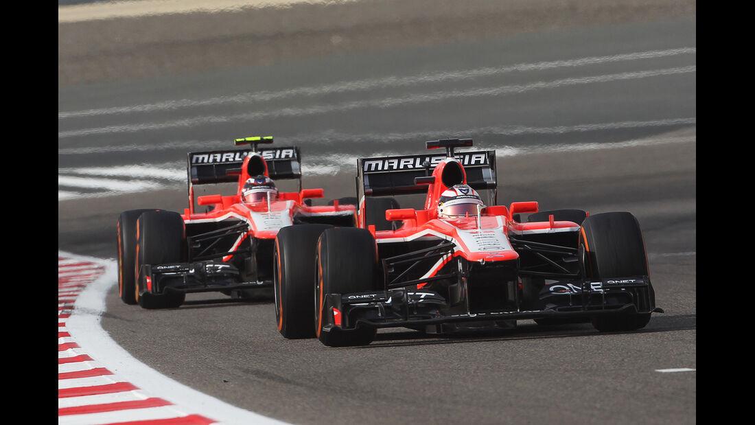 Marussia GP Bahrain 2013