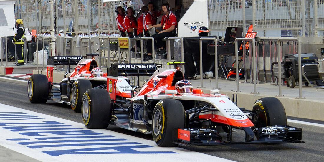 Marussia - GP Bahrain 2014
