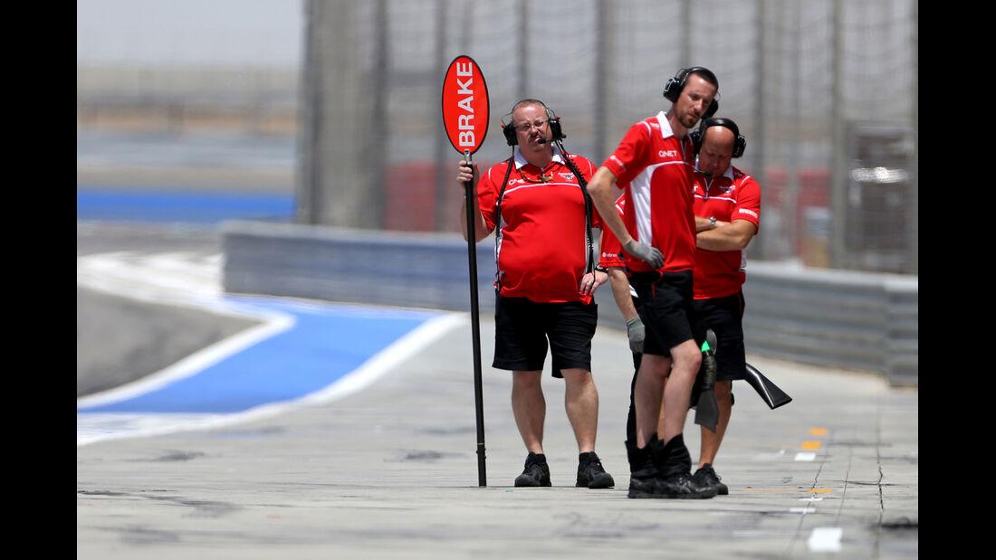 Marussia - GP Bahrain - Test 2 - 9. April 2014