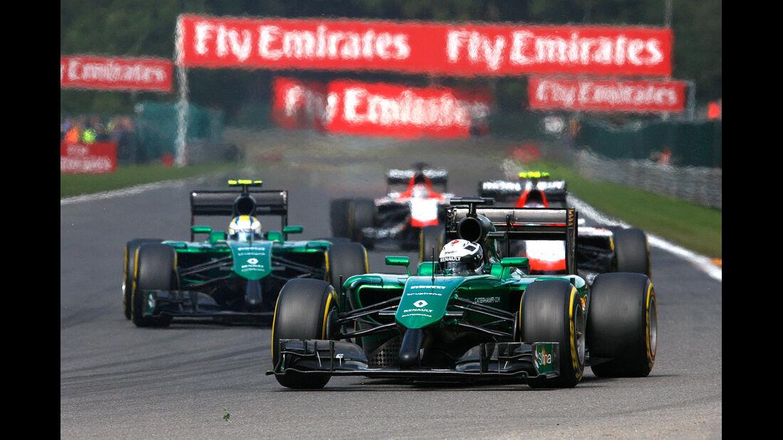 Marussia - GP Belgien 2014