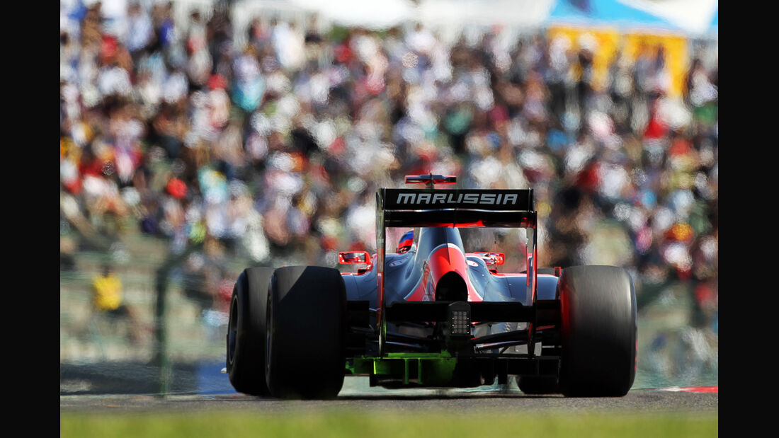 Marussia GP Japan 2012