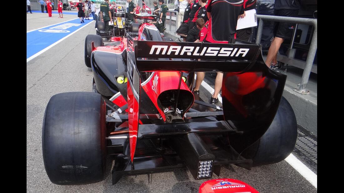 Marussia - GP Malaysia - 22. März 2012