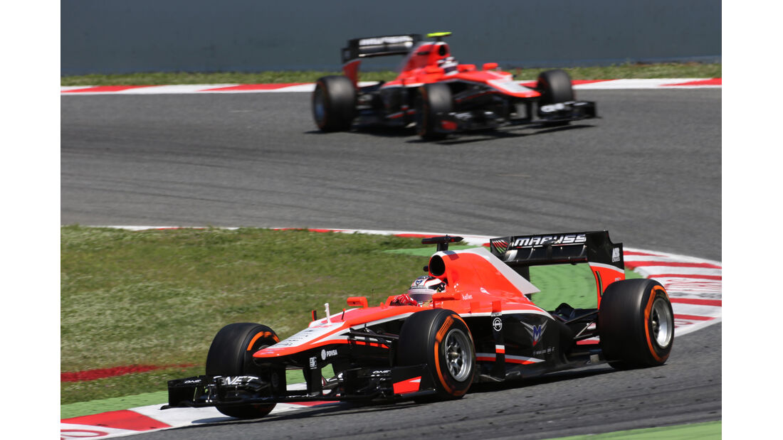 Marussia GP Spanien 2013