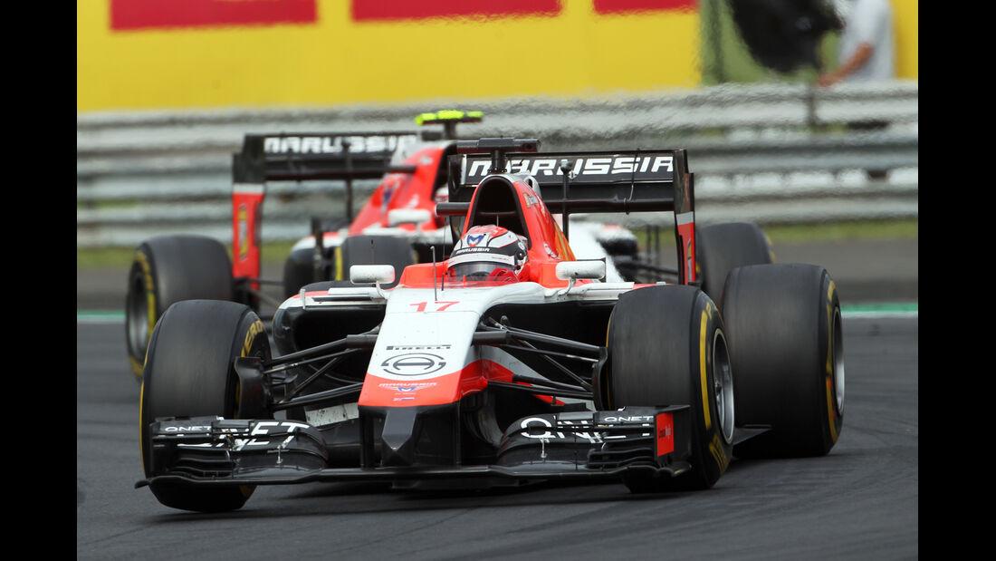 Marussia - GP Ungarn 2014