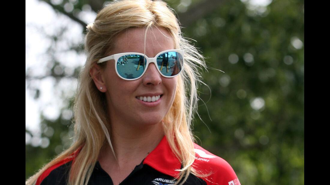 Marussia Girl GP Australien 2012