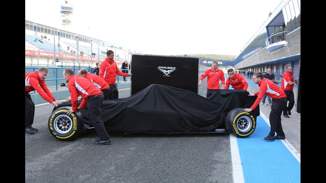 Marussia - Jerez-Test 2014