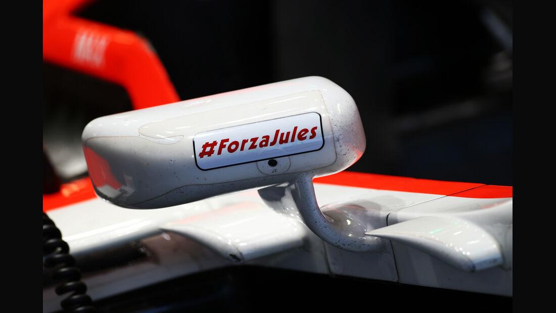 Marussia - Jules Bianchi-Tribute - GP Russland 2014
