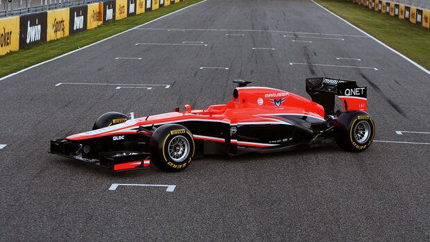 Marussia - Launch - 2013