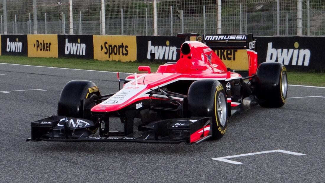 Marussia MR02 Präsentation Jerez 2013